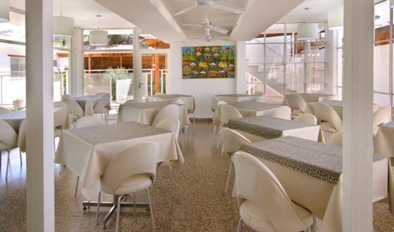 Desayunador del Hotel Santa Rosa