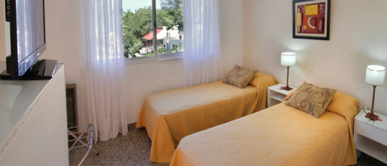 Habitación doble en Hotel Santa Rosa